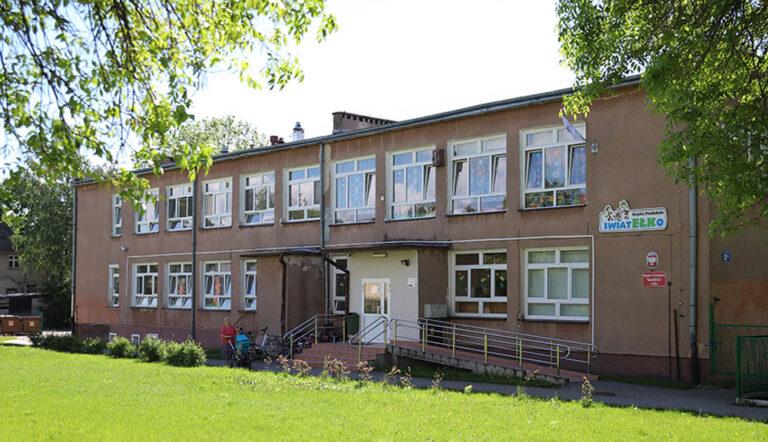 Budynek Przedszkola Światełko przed termomodernizacją